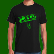 Rock On Mens T-shirt